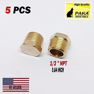 """Brass 1//8/"""" 1//4/"""" 3//8/"""" 1//2/"""" brass external hex thread socket pipe plug VH"""