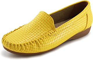 f427b2848aa Amazon.com  Yellow - Loafers   Slip-Ons   Shoes  Clothing