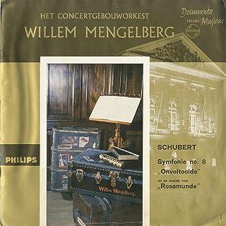 シューベルト:交響曲8番「未完成」,ロザムンデOp.26~序曲,間奏曲第3番,バレエ音楽第2番