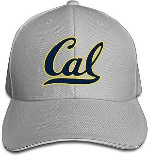 T121 University Of California Berkeley Cal Sandwich Flex Fit Hat Unisex Chapeau Black