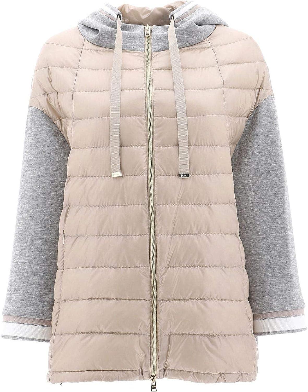 HERNO Women's PI0940D120172100 Beige Polyamide Jacket