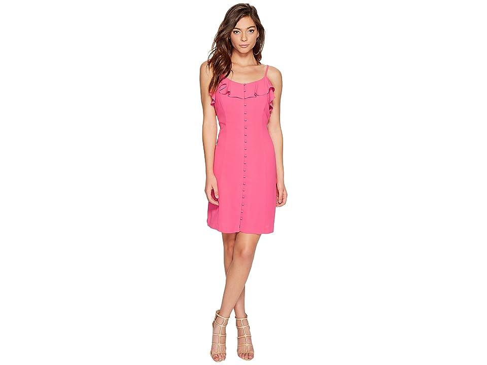 kensie Luxury Crepe Dress KS7K7972 (Party Pink) Women
