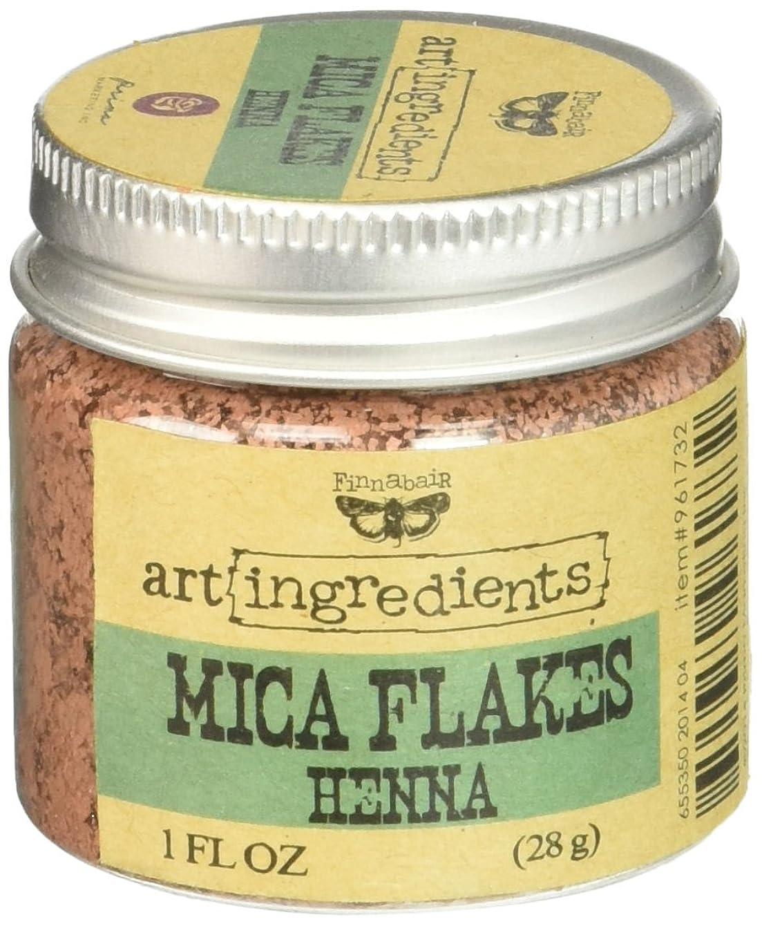 脱走飛行機複製するArt Ingredients Mica Flakes 1oz-Henna (並行輸入品)