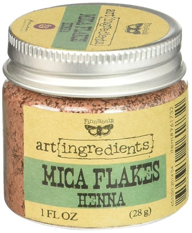 バンドル人種訪問Art Ingredients Mica Flakes 1oz-Henna (並行輸入品)