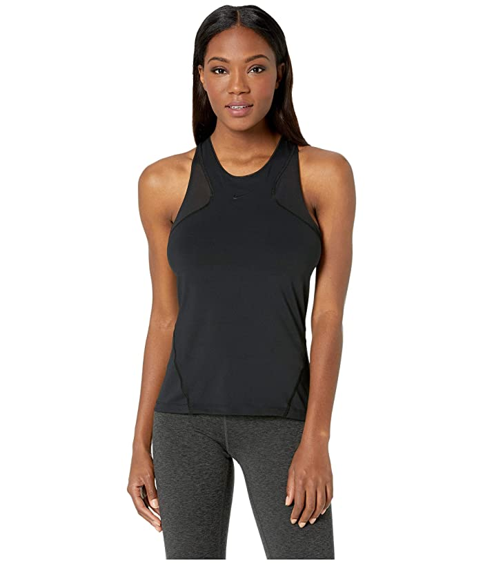 Nike Pro Hypercool Tank (Black/Clear) Women