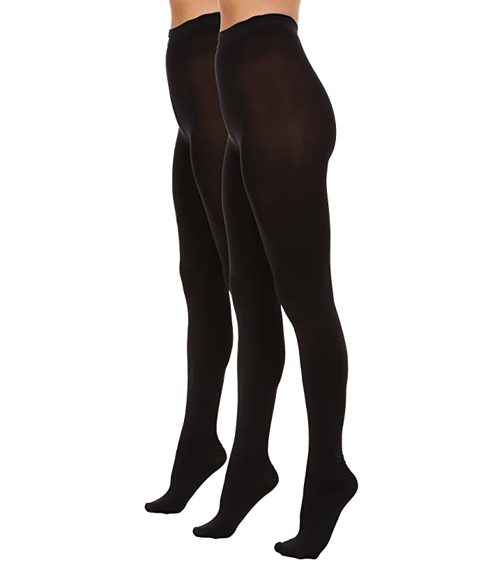 00b131598249c HUE Blackout Tights 2-Pack at Zappos.com