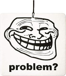 Troll Face Car Air Freshener