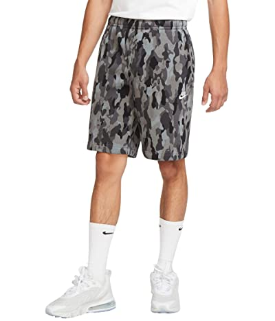 Nike NSW Club Shorts Camo (Black/Iron Grey/White) Men