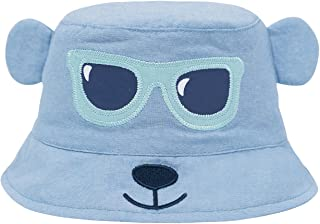 ERISO Toddler Sun Hat Cartoon | Baby Boy Bucket Summer Caps Breathable Stay-On