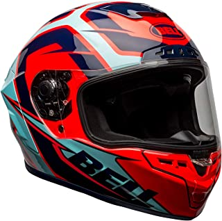 Bell Star DLX MIPS Helmet (Labyrinth Gloss Blue/Red - Large)