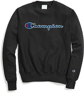 قميص رياضي رجالي منسوج عكسية من Champion Life، مزين بنمطي