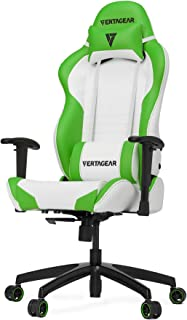 VertaGear ゲーミングチェア Racing Series S-Line SL2000 ホワイト&グリーン FT0036 VG-SL2000_WGR