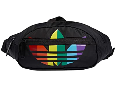 adidas Originals Pride National Waist Pack (Black/Color-Block) Handbags