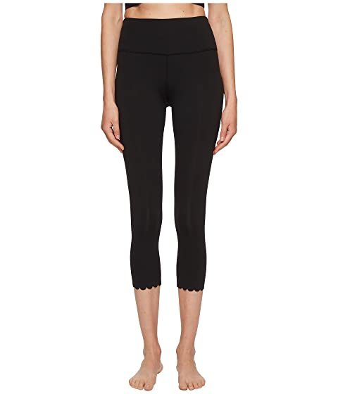 Kate Spade New York Athleisure Scallop Crop Leggings