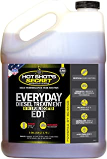 Hot Shot's Secret HSSEDT01G Everyday Diesel Treatment (EDT) 1 Gallon, 128. Fluid_Ounces