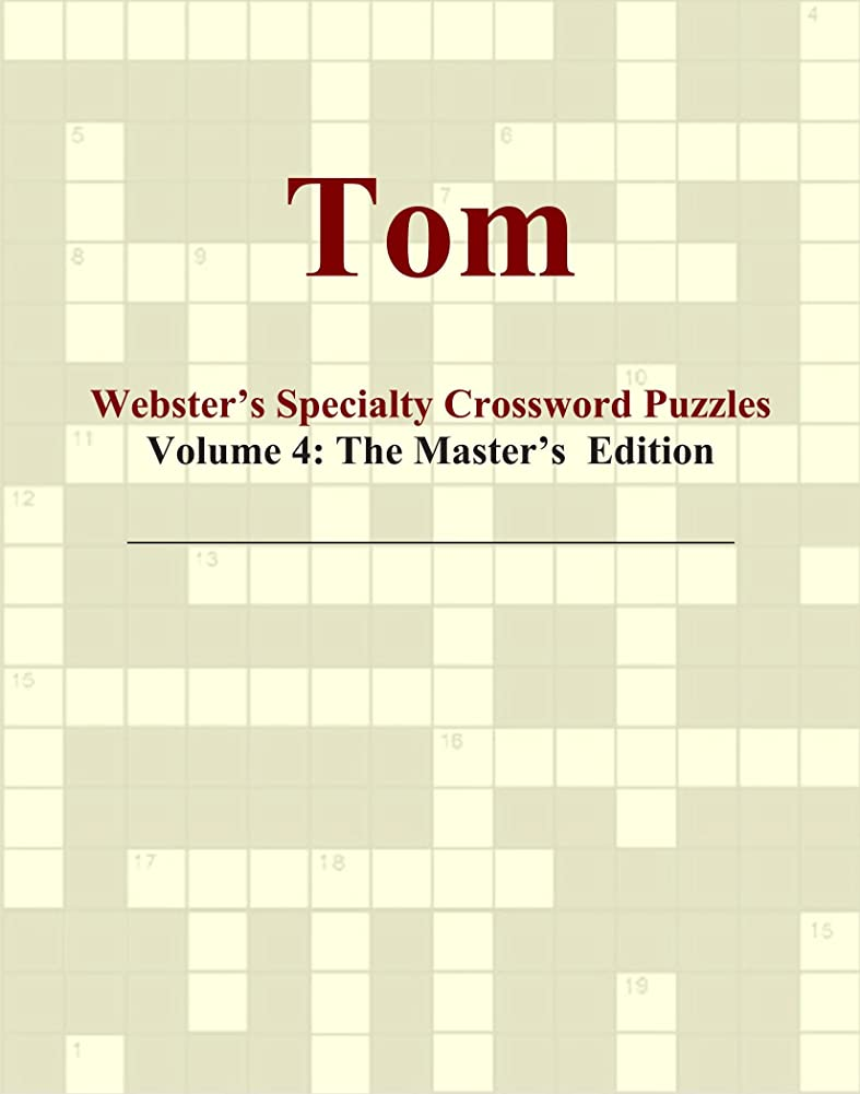 鉱夫逆さまにスパークTom - Webster's Specialty Crossword Puzzles, Volume 4: The Master's Edition