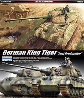 Academy Hobby Model Kits Scale Model : Armor Tanks & Artillery Kits (1/35 German King Tiger Last Production)
