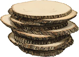 Walnut Hollow Bulk Value Pack Basswood Country Round, Extra-Large for Home Décor and Rustic Weddings, Extra Large Extra Large