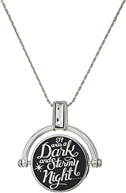 Wrinkle In Time - Dark and Stormy Night Spinner Expandable Necklace