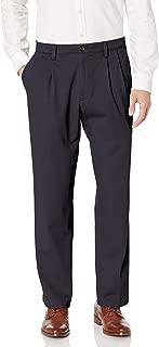 Men's Classic Fit Easy Khaki Pants-Pleated D3