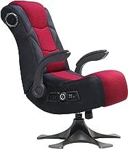 X Rocker 2.1 Sound Wireless Bluetooth 4 Speaker Video Gaming Chair with Pedestal Base & High Tech Audio 4