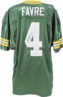 Brett Favre Signed Jersey - Wilson BAS #H92242 - Beckett Authentication - Autographed NFL Jerseys