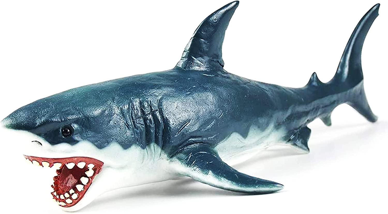 Large Shark Toys for Boys White Limited time sale Great Toy Action Megalodon price
