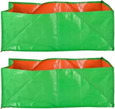 "YUVAGREEN Terrace Gardening Leafy Vegetable Green Grow Bag (18"" X 12 "" X 9"" ) - (Pack Of 2)"
