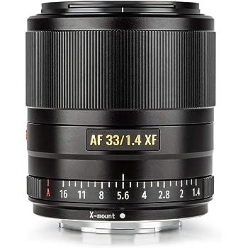 VILTROX 33mm 1.4 fujifilm AF 33mm F1.4 XF Auto Focus Fixed Focus Lens for Fujifilm Fuji X-Mount Camera X-T3 X-T2 X-H1 X20 X-T30 X-T20