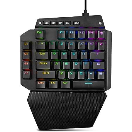 K50 RGB teclado de juego con cable 35 teclas con una sola ...