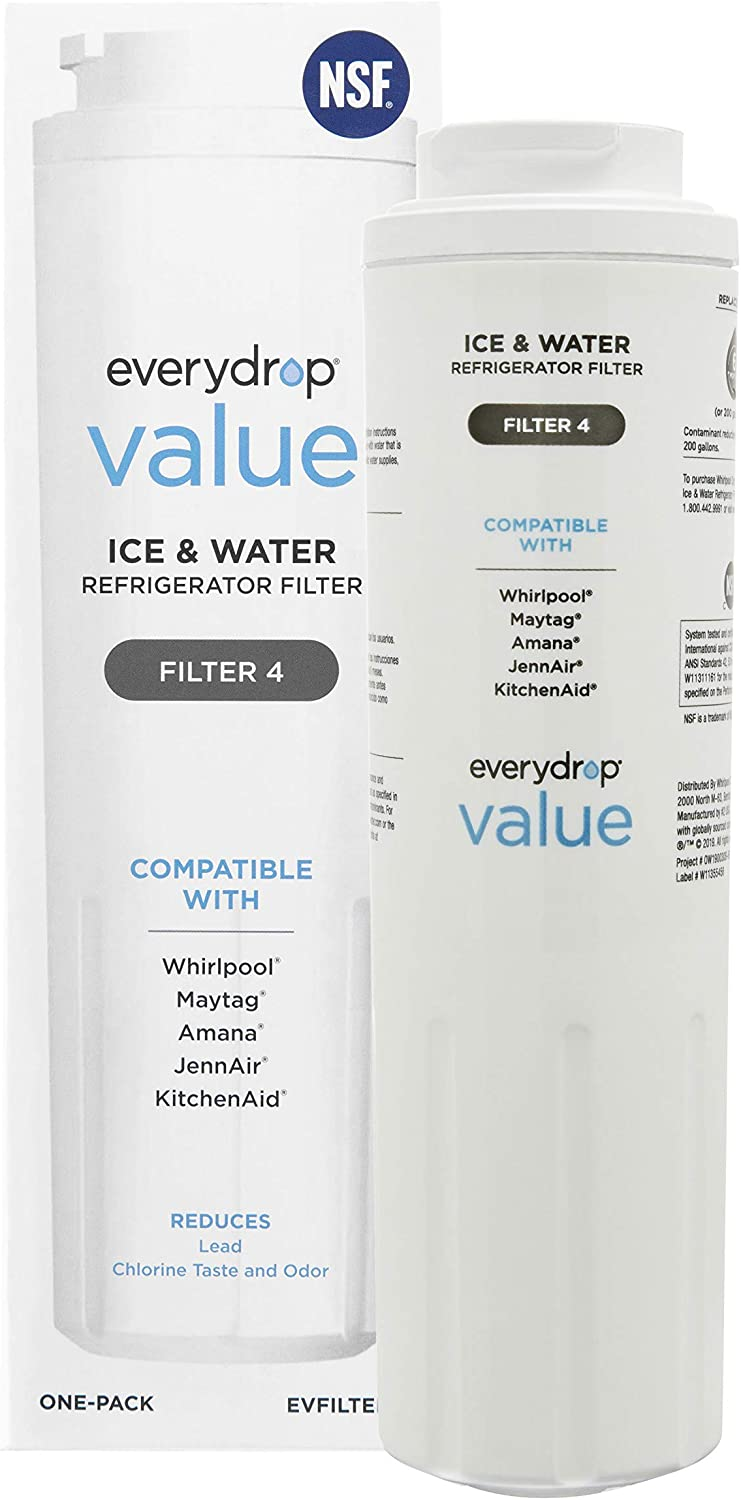 everydrop Value Refrigerator Water Filter 4 of 1 Very popular! Pack Outstanding