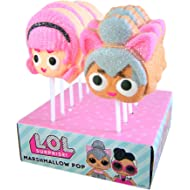 LOL Suprise Character Candy Marshmallow Pops, 1.41oz (Case of 12)