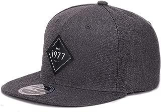 Vintage 1977 Cool Flat Bill Baseball Cap Women Mens Gorras Planas Snapbacks Trucker hat Outdoor Hip-hop Snapback caps