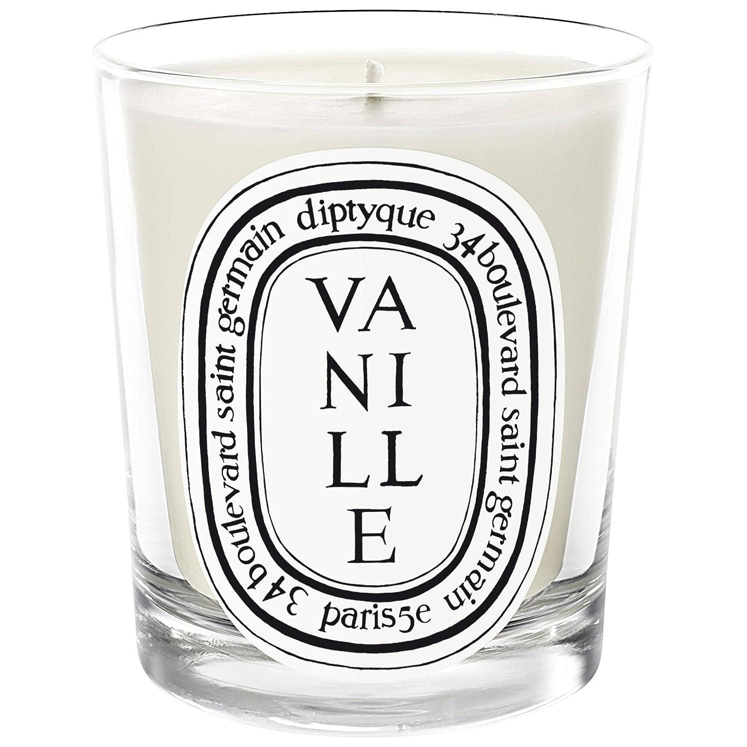 同級生バイナリ臭い[Diptyque] Diptyqueのヴァニラの香りのキャンドル190グラム - Diptyque Vanille Scented Candle 190g [並行輸入品]