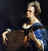 Artemisia Gentileschi Self-Portrait as a Lute Player - 20