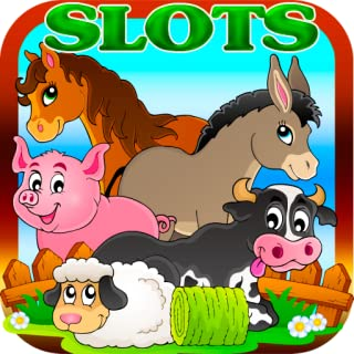 Slots Free Crazy Farm Animals Casino Clans Farmer Luck Grow Jackpots Free Slots HD Slot Machine Games Free Casino Games for Kindle Fire HDX Tablet Phone Slots Offline
