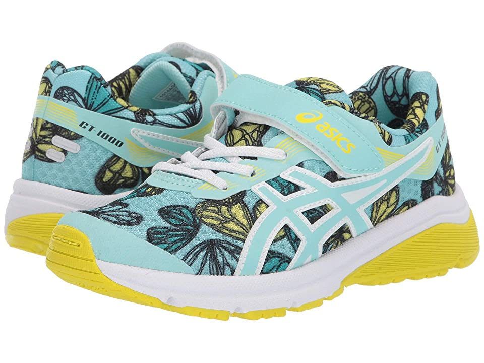 ASICS Kids GT-1000 7 PS SP (Toddler/Little Kid) (Icy Morning) Girls Shoes