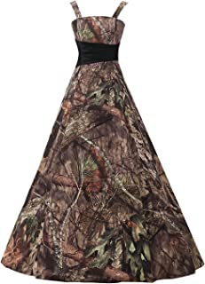 Long Bridesmaid Dress CAMO Evening Prom Dress Army Party Dress GS66