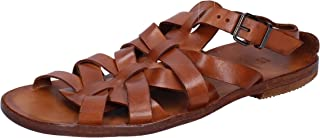 MOMA Fashion Sandals Mens Leather Brown