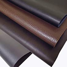 "INCIRCLE Genuine Scrap Leather - 100% Cow Skins, 15.6X19.6"", 2.2 Square FEET for Crafts and Tooling. LEATHER100"