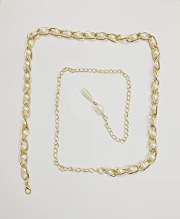 neha enterprises Brass Metal White Waist Belt, Kamar Band, Belly Chains for Women