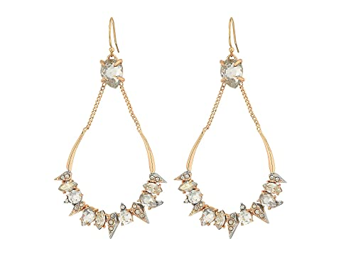 Alexis Bittar Crystal Encrusted Mosaic Futuristic Tear Earrings