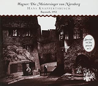 ワーグナー:1楽劇「ニュルンベルクのマイスタージンガー」全曲