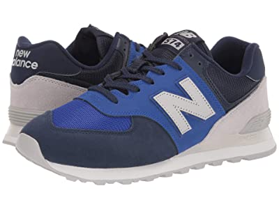 New Balance Classics 574v2-USA (Lapis Blue/Sea Salt Suede/Mesh) Men