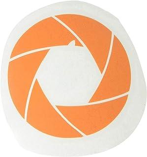 """ملصق فينيل لاصق لـ ماك بوك لفيلم The Decal Guru 2056-MAC-12M-P - 12"""" MacBook - برتقالي"""