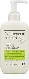 Neutrogena Naturals Purifying Daily Facial Cleanser with Natural Salicylic Acid from Willowbark Bionutrients, Hypoallergenic, Non-Comedogenic &. | ⭐️ Exclusive
