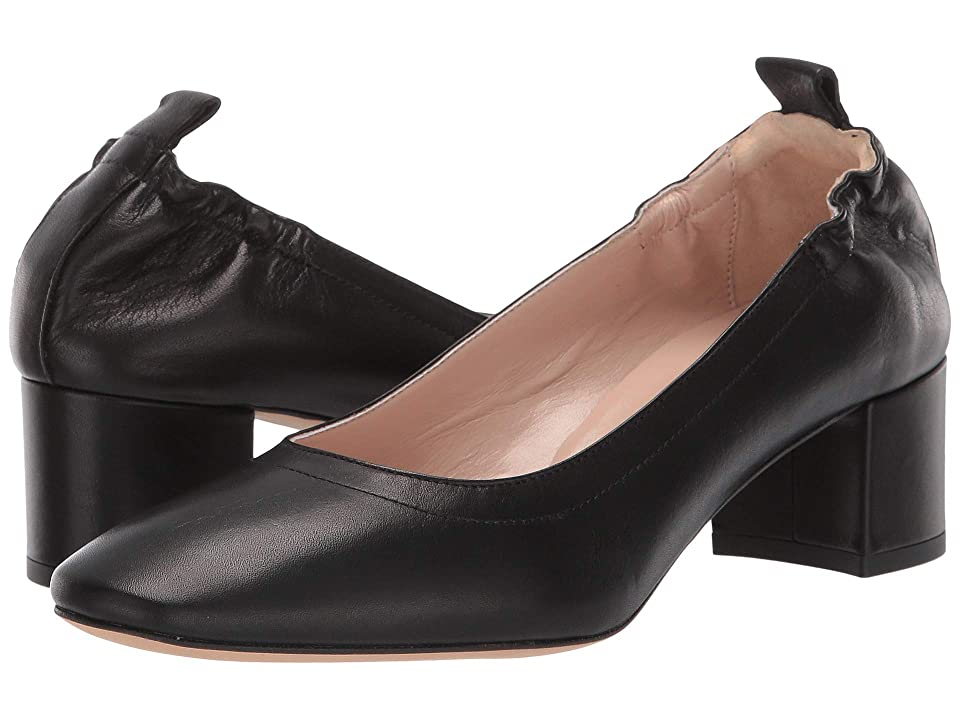 Summit by White Mountain Vittoria Heel (Black Leather) Women