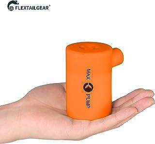 FLEXTAILGEARMax ポンプ 最軽量ポータブル アウトドア キャンプエアポンプ USB充電式 エアポンプ for Inflatables inflate Deflate エアベッド エアマット エアボート BBQ 空気ポンプ ノズル付き