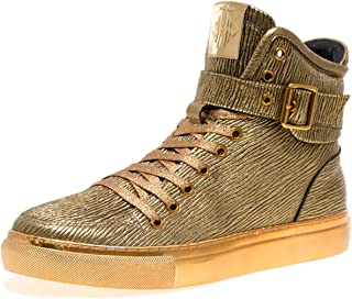Jump Newyork Men s Sullivan Round Toe Hand-Painted Leather Lace-Up Inside  Zipper and 6ec1e29e7751