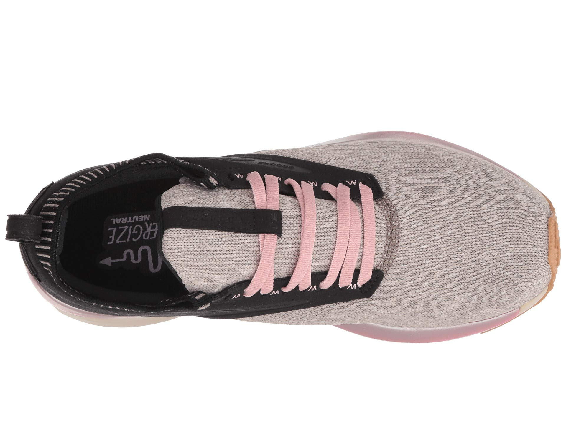 tan pink Ricochet Black tan Black Brooks Black Brooks Ricochet Brooks pink Ricochet E45nqvZnxw